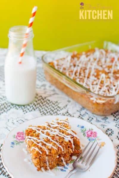 Photo of Carrot Cake Oatmeal Bake - Breakfast Easter Recipe Ideas