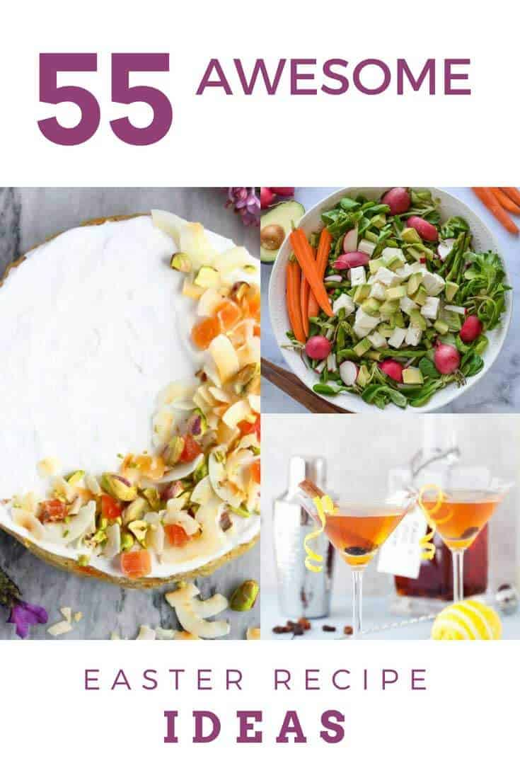 The Ultimate Guide to Easter Recipe Ideas.  Planning a brunch menu or need gluten free options?  This guide is packed with creative recipe ideas that the whole family will love.  #easter #easterrecipes #wendypolisi