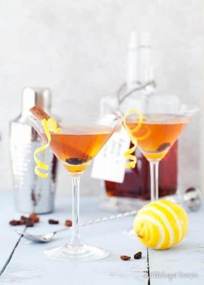 Photo of Hot Cross Bun Martini - Drink Easter Recipe Ideas