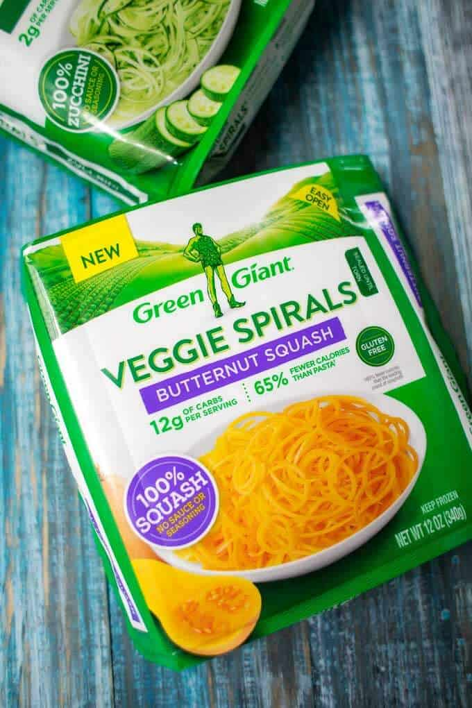 Photo of Green Giant veggie spirals