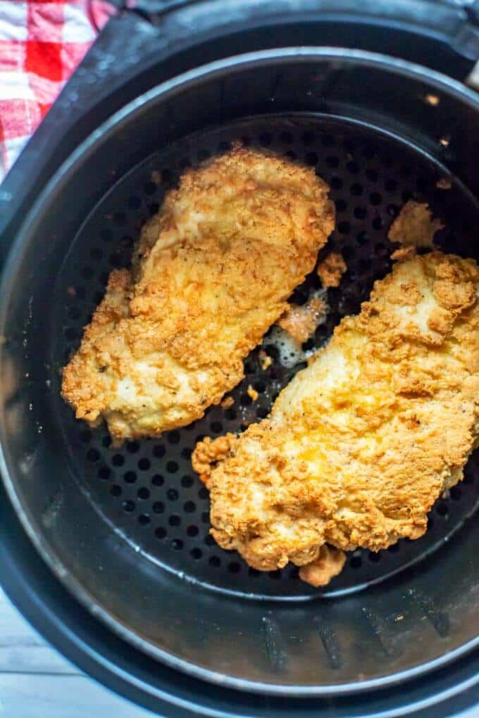 Air Fryer Chicken Breast Recipe Gluten Free Low Carb Wendy Polisi