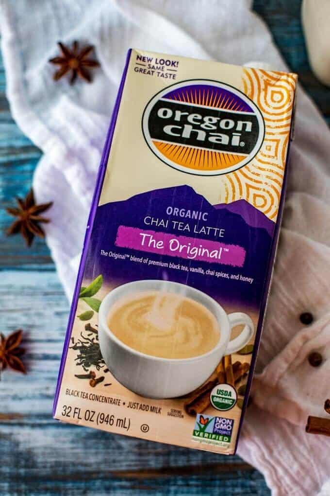 Photo of Oregon Chai Chai Tea Latte concentrate.