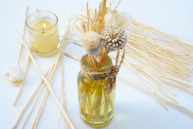 Reed essential oil diffuser.