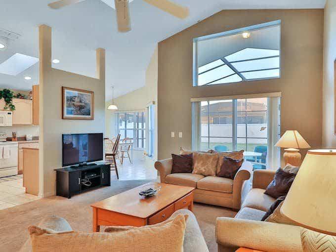 Photo of an Orlando Florida vacation rental home.