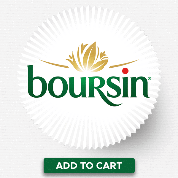 Photo of boursin logo.
